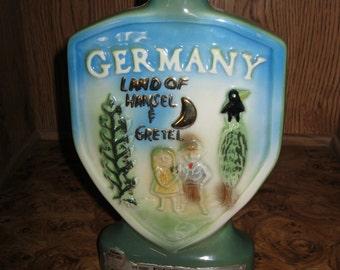 Vintage Jim Beam Germany Bottle 1972 - Item 200-100