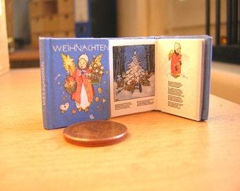 xmas 1/12 Miniature book