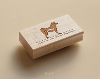 Husky - Personalized Stamp