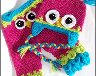 Owl Hats and Baby Pants - CROCHET PATTERN