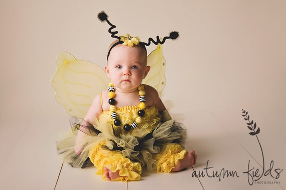 Baby Girl Bumble Bee Halloween Costume
