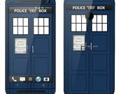HTC One Case Decal Skin Cover - British Police Box