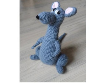 Amigurumi Rat : Ravelry peachy the rat pattern by danielle bash