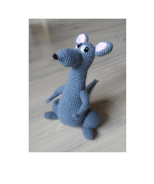 Amigurumi Mouse Cat Toy : Crochet Toy Pattern Crochet Rat Mouse Pattern Amigurumi Rat