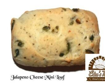 18 Jalapeño Cheese Mini Loaves