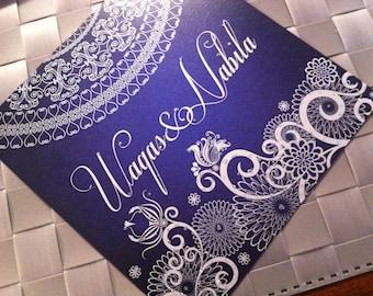 Customizable Indian Wedding Invitations