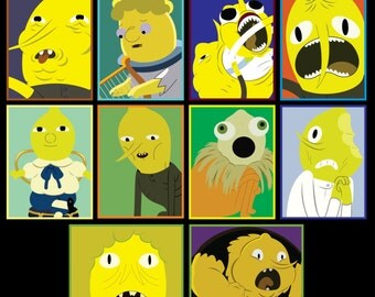 Adventure Time - Earl of Lemongrab Vol 2 Sticker 10 Pk