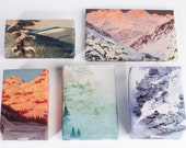 Mountain Range Wrapping Paper