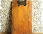 Antique clip board