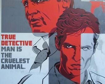 True Detective Digital Art Print