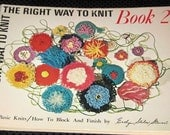 The Right Way to Knit, Book 2 - softcover book