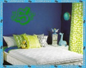 """24"""" wide Monogram Style Wall Decal (first LAST middle) - Vinyl Wall Decalz"""