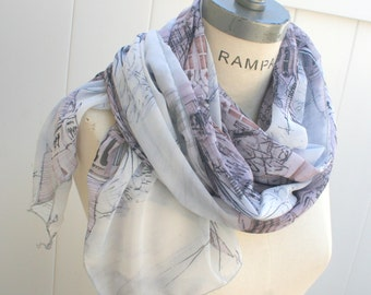 Bridesmaid Gift ,most sold,handmades gifts, Wedding  Scarf, Gift  Women ,gifts for her, birthday gift, lightweight summer scarf- By PIYOYO