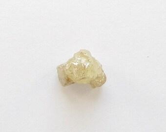 Natural Rough Whiteness Yellow Diamond, Unheated, Uncut, 2.38 carats