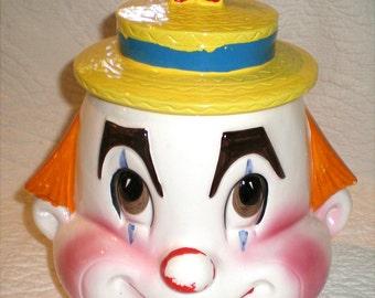 Clown Cookie Jar-Not  Creepy