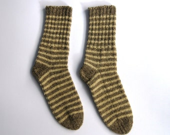 Hand knitted wool socks - FREE SHIPPING