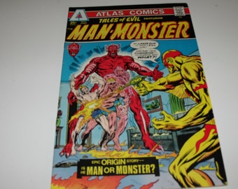 Tales of Evil No.3 featuring the Man-Monster (1975)