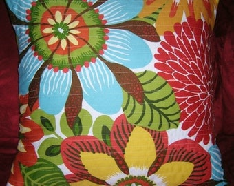 Modern Summer to Traditional Winter Reversible Pillow Cover