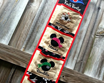 Four Pocket Fish Extender Pirate Ship for Disney Cruise