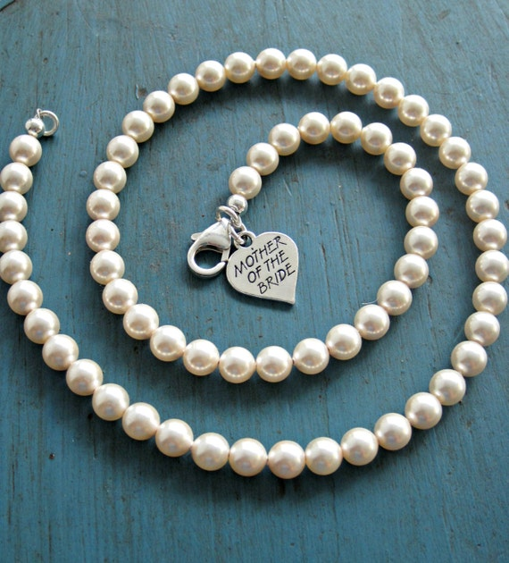 Mother Of The Bride Jewelry: Items Similar To Mother Of The Bride Gift Pearl Necklace