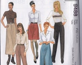 McCall's 9488 Misses' Skirt in Two Lengths, Pants Sewing Pattern Sizes 18-20-22