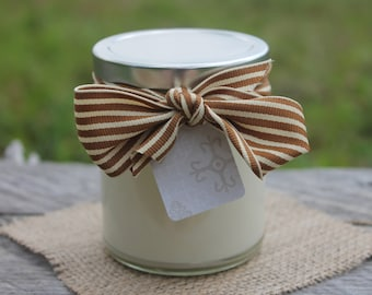 Candle of the Month-Handpoured Natural Soy Candle Jar 12 oz-Belle Savon Vermont