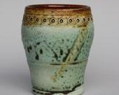 Faux ash porcelain cup