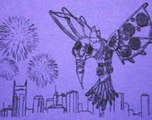 Bassnectar Hummingbird New Years Eve 2014 Shirt