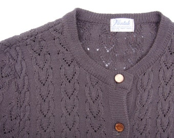 Vintage 70's Wintuck Cable Cardigan