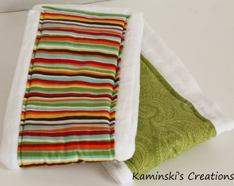Burp Cloths, Set of 2