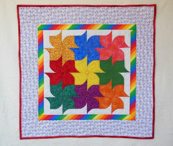 Forever Flowers PDF Quilt Pattern