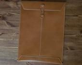 ipad sleeve case leather envelope for iPad