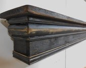 Fireplace Mantle, Floating Shelf, Wall Shelf, Mantel, French Country Mantle, Primitive Mantle, Mantle Shelf, Shabby Chic Mantle,Mantle shelf