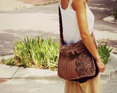 Multicolor Boho Shoulder Bag