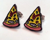 Pizza Party Earrings