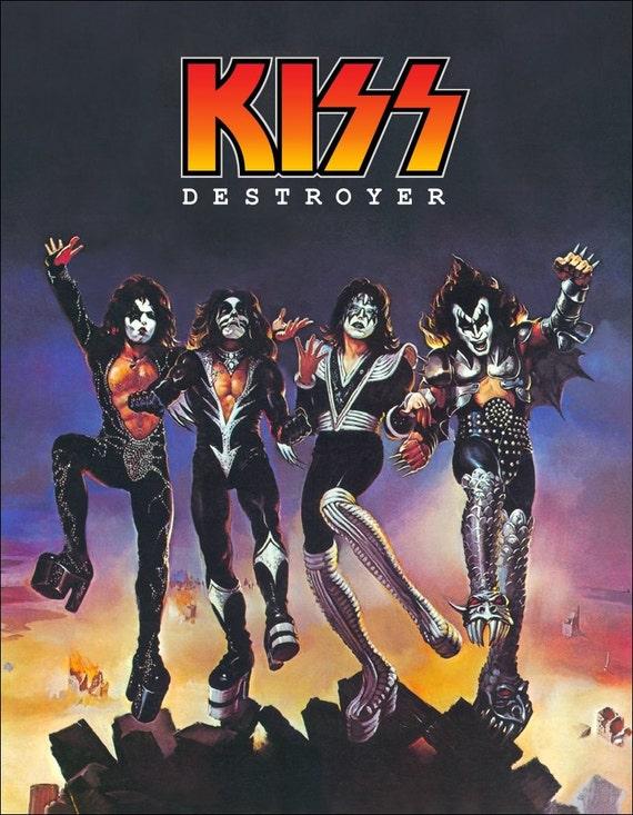 Kiss Destroyer Album : kiss destroyer album cover stand up display ~ Russianpoet.info Haus und Dekorationen