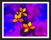 Autumn--LOW COST-Downloadable Fine Art  Print-Will look Beautiful On Any Wall At Home Or Office