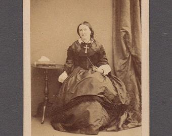 CDV of Jane, Countess of Aylesford