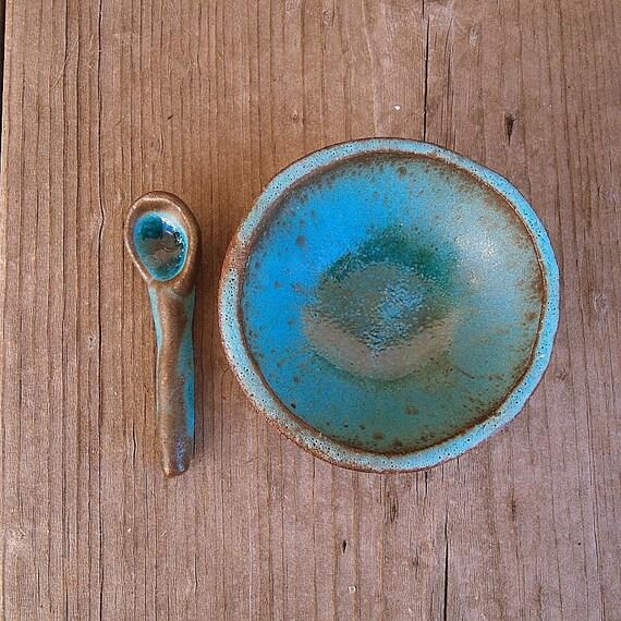 organische form türkis geschirr keramik schüssel teller ~ Geschirr Türkis