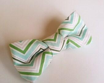 Boys Pre-tied Bow Tie in Mint