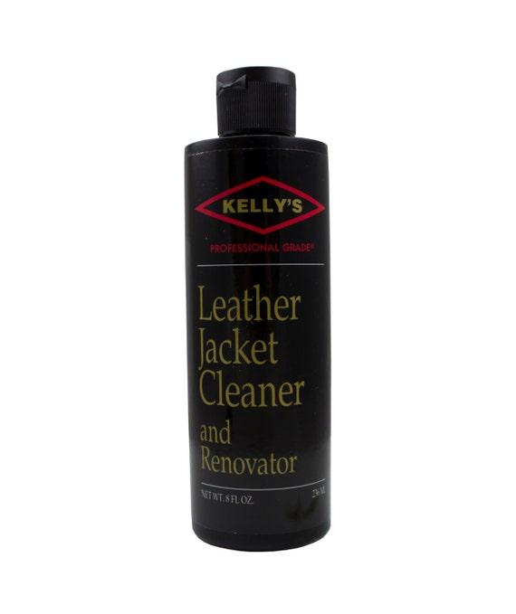 Kelly's Leather Jacket Cleaner & Renovator 8oz 34-90501