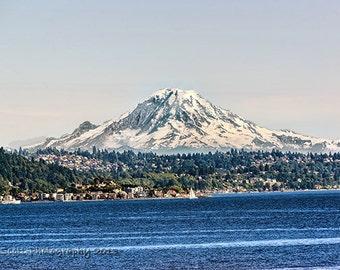 Landscape Photography | Mount Rainier | Seattle Art | Mountain Landscape | Pacific Northwest Wall Art | Home & Office Decor | Fine Art