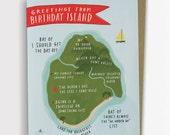 Birthday Island - Birthday Card 137-C