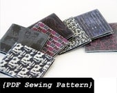 Men Leather Wallet Sewing Pattern - PDF File and DIY Tutorial (Instant Download)