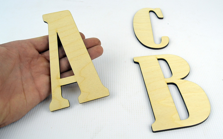 XXL Alphabet Wooden Letters / Wall Hanging / Nursery Decor ...