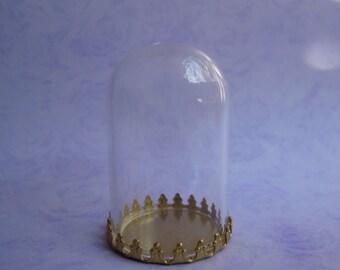 Dollhouse Miniature Glass Dmoe Cloche Domes