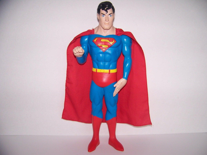 Kids Toys Action Figure: Vintage Superman Doll Toy/Action Figure 1988 DC Comics 15 Inch