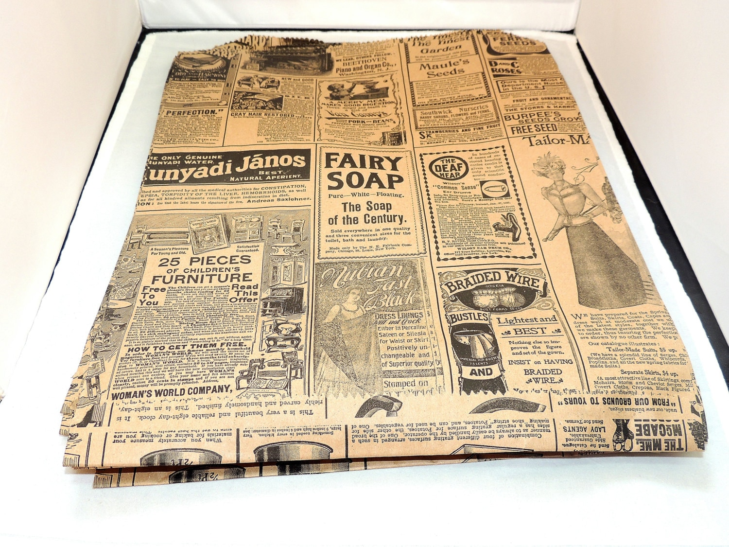25 vintage large 12x15 inch newsprint bags vintage for 12x15 calculator