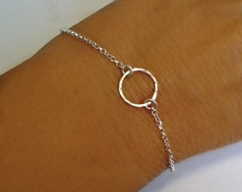 Eternity Infinity open circle Bracelet Love Karma Bracelet Friendship chain Endless love charm best friend open circle life valentine gifts