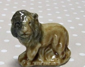 Vintage Retro Wade Whimsies Miniature Lion Made in England